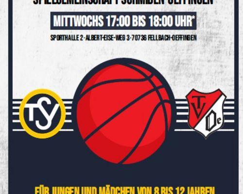 Basketball für Kids (8-12) am 10. Mai - schaut vorbei